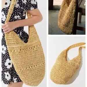 Urban Outfitters Soft Straw Tote Bag